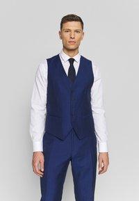Tommy Hilfiger Tailored - PIECE WOOL BLEND SLIM SUIT - Garnitur - blue - 6