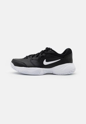COURT Jr.  LITE 2 UNISEX - Multicourt tennis shoes - black/white