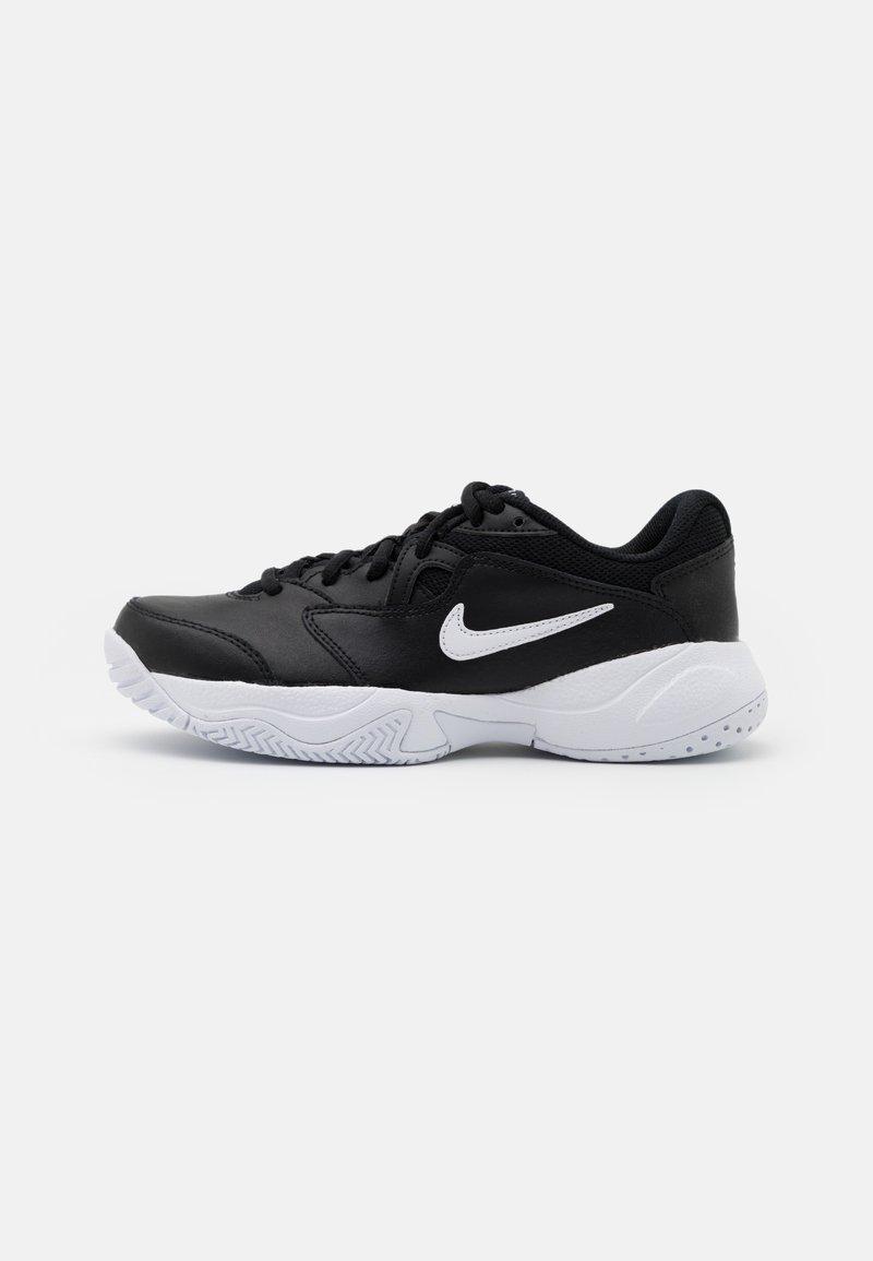 Nike Performance - COURT JR LITE 2 UNISEX - Multicourt tennis shoes - black/white