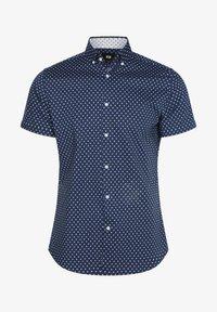 WE Fashion - HERREN-SLIM-FIT-HEMD MIT MUSTER - Shirt - dark blue - 4
