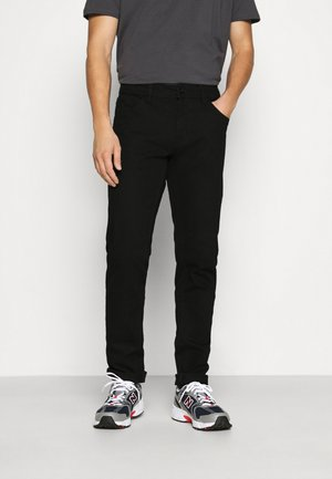 NEW YORK - Jeansy Slim Fit - black denim