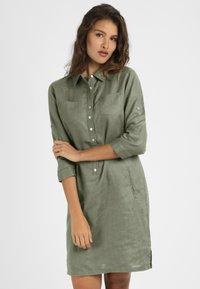 mint&mia - Shirt dress - khaki - 0