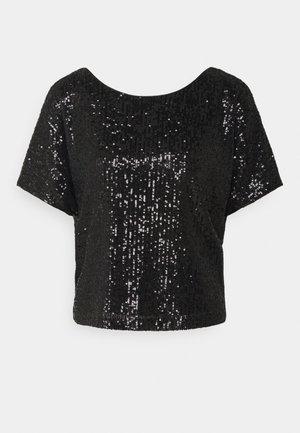 DOLMAN - T-shirt print - black