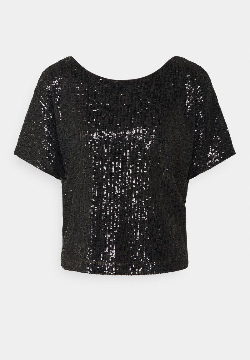 Milly - DOLMAN - Print T-shirt - black