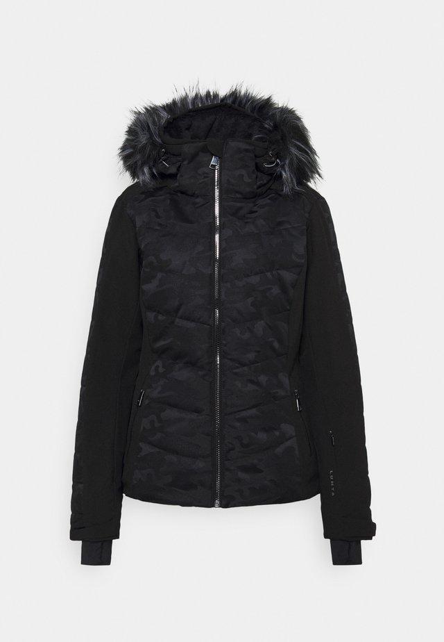 ENGELSBY - Snowboard jacket - black