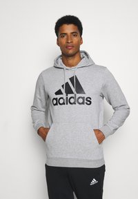 adidas Performance - SET - Träningsset - medium grey heather/black - 0