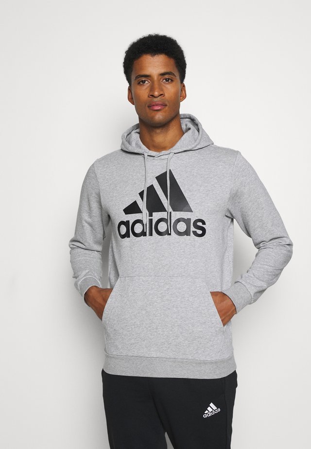 SET - Tracksuit - medium grey heather/black