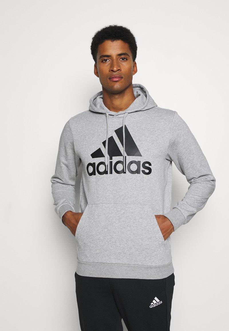 adidas Performance - SET - Träningsset - medium grey heather/black