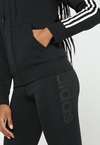adidas Performance - Sweatjacke - black/white