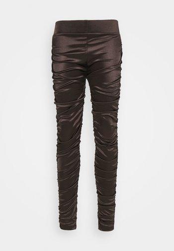 CRYSTAL - Leggings - Trousers - black