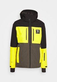 Brunotti - ARACIN MENS SNOWJACKET - Snowboardjacka - pine grey - 5