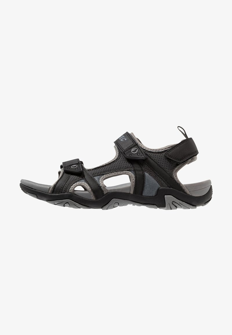 Hi-Tec - CRATER - Chodecké sandály - charcoal/cool grey