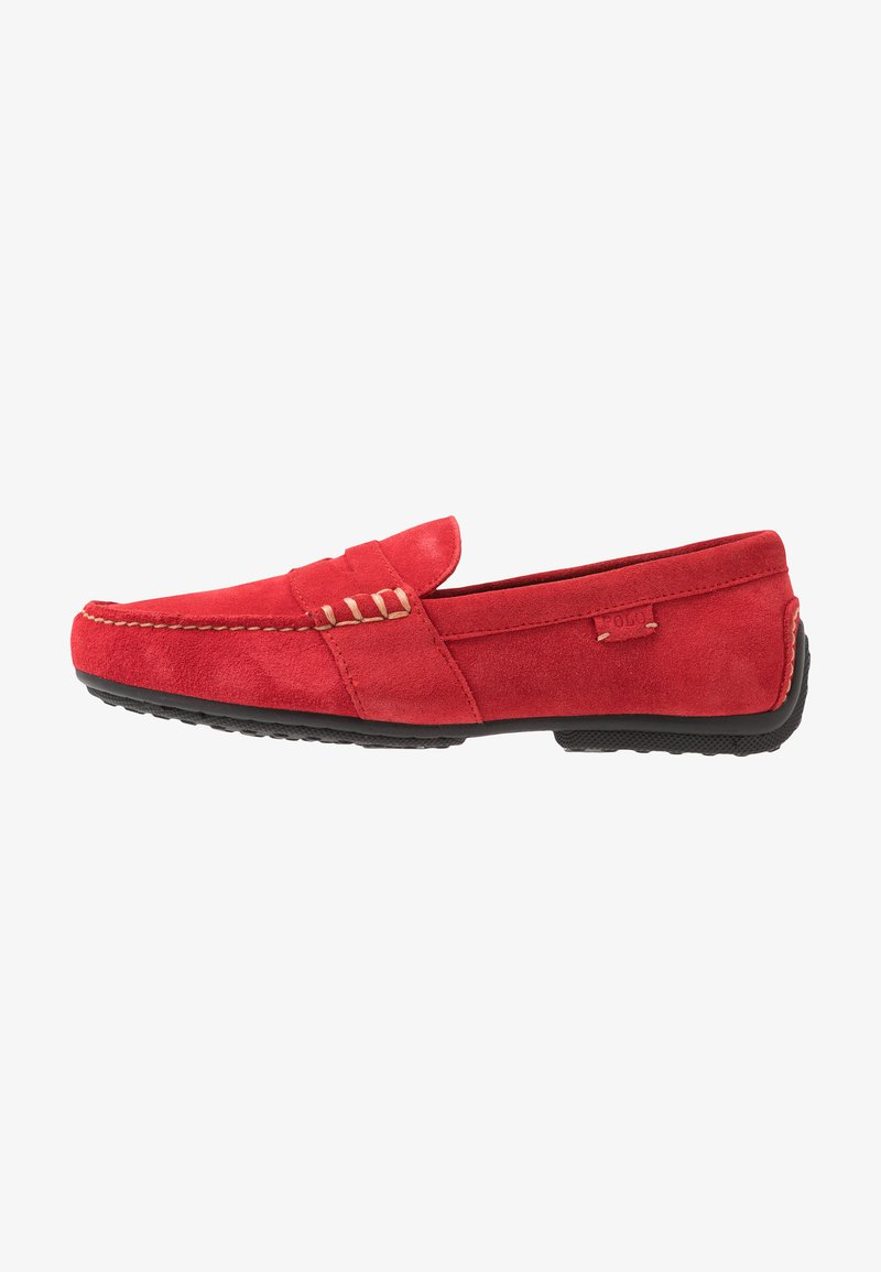 Polo Ralph Lauren - REYNOLD DRIVER - Moccasins - red
