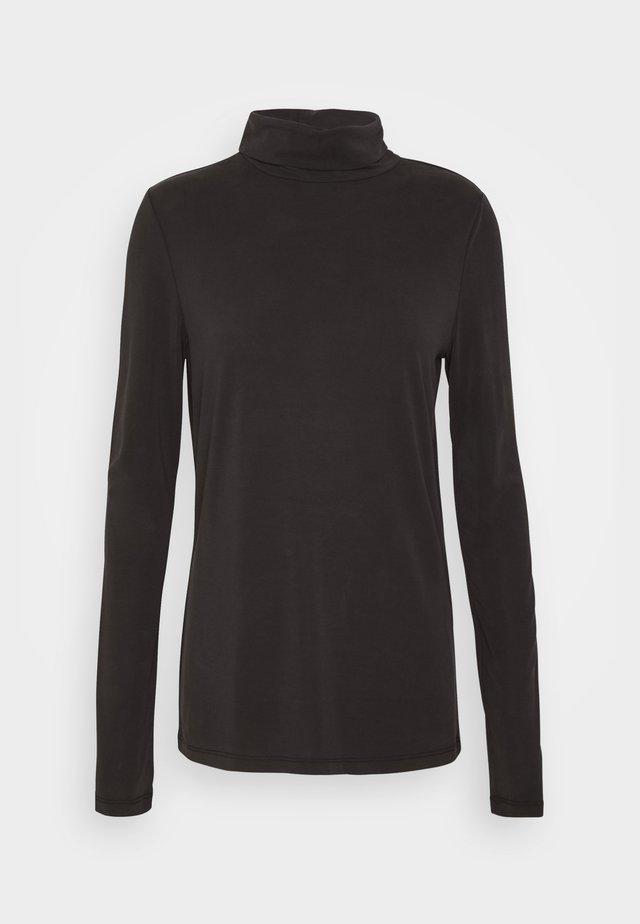 PCKAMALA ROLLNECK  - Langarmshirt - black