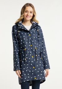 Schmuddelwedda - Waterproof jacket - marine dots aop - 0