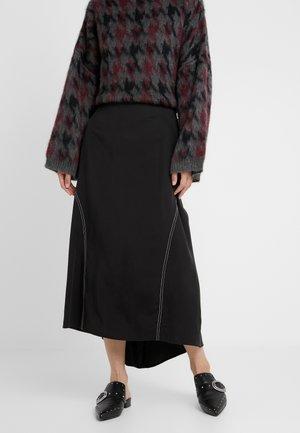 MONA - Maxi skirt - black