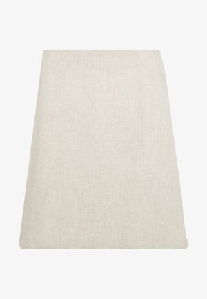MINI SKIRT - A-line skirt - beige