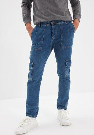 Jeans straight leg - navy blue