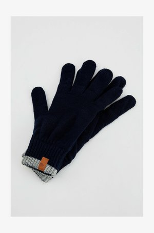 Gloves - navy