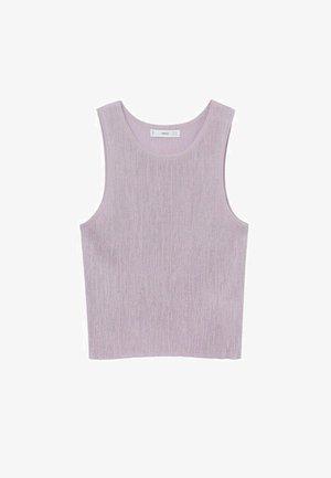 Top - light/pastel purple