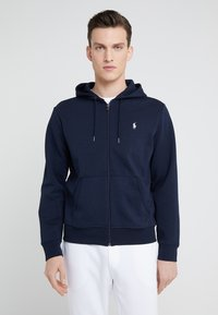 Polo Ralph Lauren - DOUBLE TECH - Zip-up hoodie - aviator navy - 0