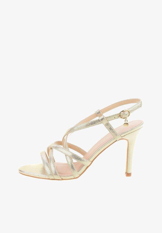 ZUMPANO - High heeled sandals - gold