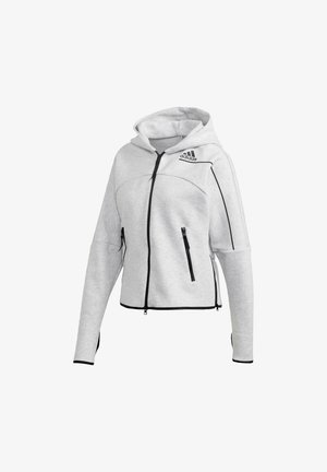 ADIDAS Z.N.E. HOODIE - Zip-up hoodie - grey