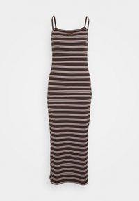 Nike Sportswear - FEMME DRESS  - Maxi dress - baroque brown/metallic gold - 4