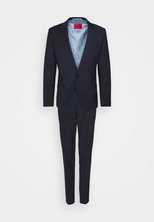 HENRY GETLIN - Oblek - dark blue
