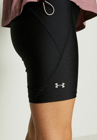 Under Armour - Tights - black/metallic silver - 4