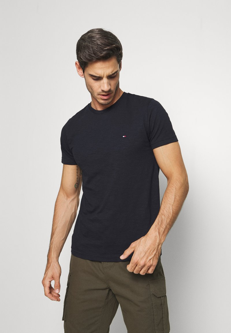 Tommy Hilfiger - SLUB TEE - Basic T-shirt - blue