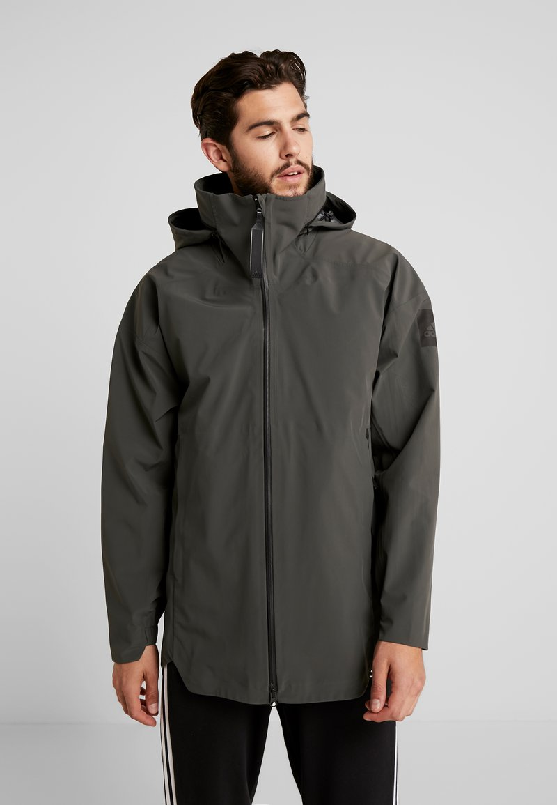 adidas Performance - MYSHELTER 3IN1 WINTER JACKET - Parka - olive