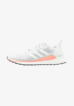 SOLAR GLIDE 19 - Neutral running shoes - blue tint/footwear white/glow pink