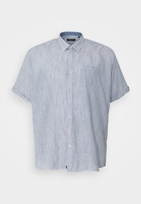 Shine Original - STRIPED STRUCTURE SHIRT - Shirt - navy - 0