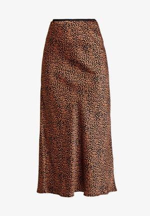 A-line skirt - black/leo
