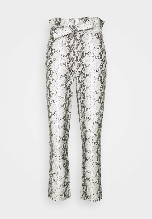 Pantalones - neve/nero
