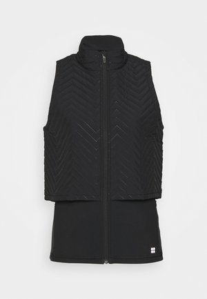 FAST TRACK PADDED RUNNING GILET - Chaleco - black