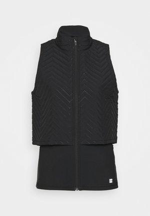 FAST TRACK PADDED RUNNING GILET - Vest - black