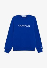 Calvin Klein Jeans - INSTITUTIONAL LOGO  - Sweater - blue - 3