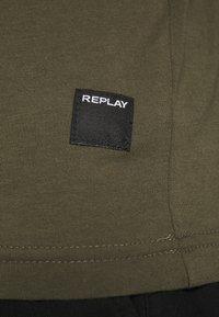 Replay - Maglietta a manica lunga - olive - 5