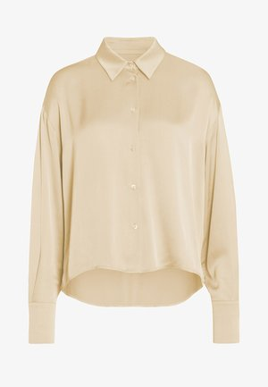 OLEANDRO - Button-down blouse - papyrus