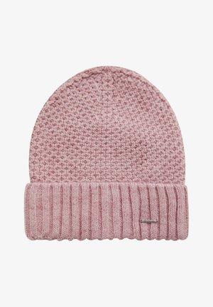 Beanie - grey-pink