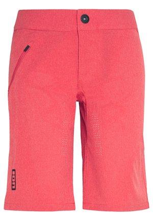 ION BIKESHORTS TRAZE - Krótkie spodenki sportowe - pink isback