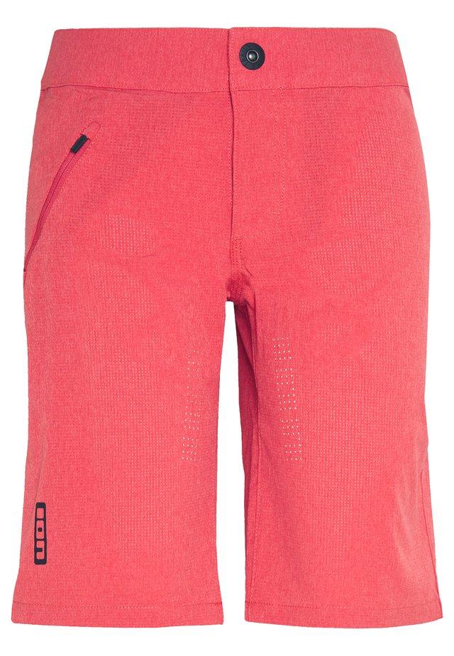 ION BIKESHORTS TRAZE - Pantaloncini sportivi - pink isback