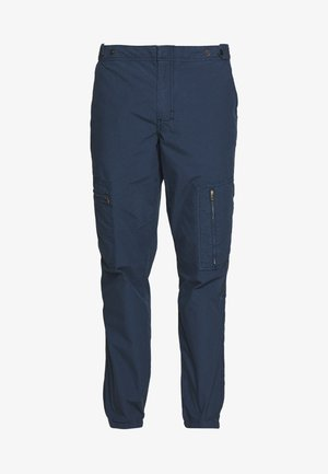 MENS FLIGHT PANTS - Trousers - navy