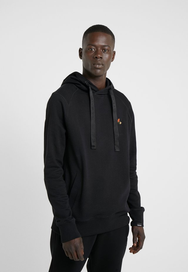 LOGO HOODIE - Hoodie - black