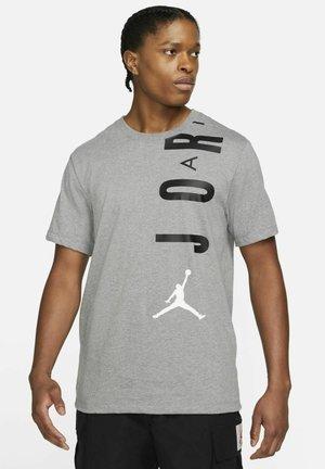 AIR - Print T-shirt - carbon heather/black/white