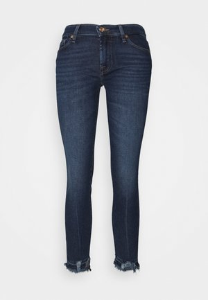 THE CROP LUXE VINTAGE POWERTRIP DISTRESSED - Skinny džíny - dark blue