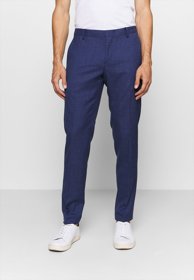 SLIM FIT SEPARATE PANT - Pantalon - blue