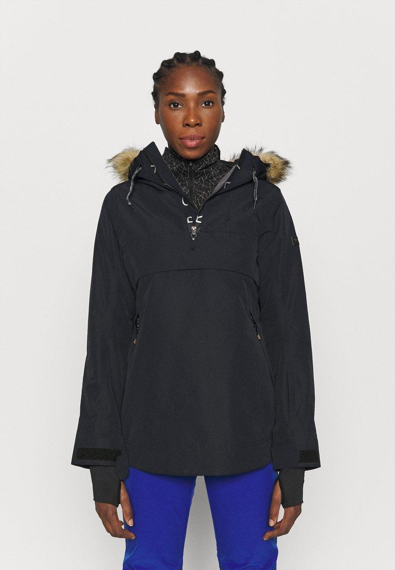 Roxy - SHELTER - Chaqueta de snowboard - true black